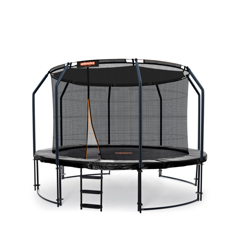10ft Trampoline With Ladder & Shade