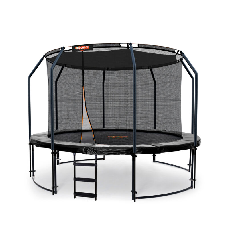 12ft Trampoline With Ladder & Shade