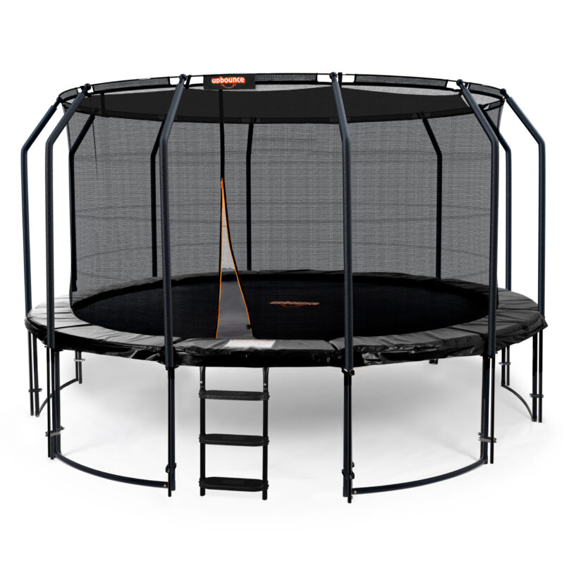 14ft Trampoline With Ladder & Shade